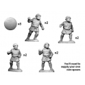 Crusader Miniatures ANN001 Numidian Warriors with Spear/ Javelin