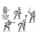 Crusader Miniatures ANS005 Spanish Scutari Command - standing