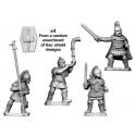 Crusader Miniatures ANS042 Celtiberian warrior command