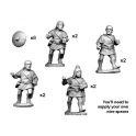Crusader Miniatures ANS007 Spanish Caetrati with spear