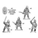 Crusader Miniatures ANS041 Celtiberian warriors with Swords