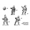 Crusader Miniatures ANS050 Lusitanian warriors with spears