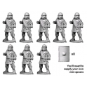 Crusader Miniatures RFA033 Middle Imperial Roman Legionaries with Spears