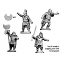 Crusader Miniatures ANT005 Thracian Tribesmen Command
