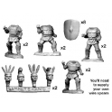 Crusader Miniatures ANO003 Samnites in Square/ Pectoral Armour