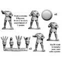 Crusader Miniatures ANO009 Unarmoured Campanian Hoplites