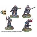 Crusader Miniatures DAN008 Norman Infantry Command