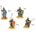 Crusader Miniatures DAN002 Norman Spearmen in Chainmail II