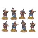 Crusader Miniatures DAN005 Norman Crossbowmen in Chainmail