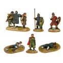 Crusader Miniatures DAN011 Norman Characters & Casualties