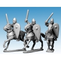 Crusader Miniatures DAN104 Norman Knights in Chainmail with Swords