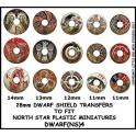 North Star DWARF(NS)4 Dwarf Shield Transfers 4