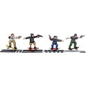 North Star FW6 Skateboarders with Guns