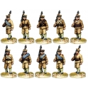North Star BU04 Chinese Infantry Marching