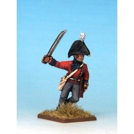 North Star MT0016 British Regular Infantry Officer (1812)
