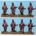 North Star MT0017 British Regular Infantry (1812)