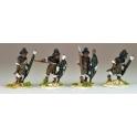 North Star NSA1005 Matabele Warriors In Full Regalia (Insunga Regt.)