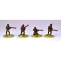 North Star NSA1011 Matabele Warriors Firing Muskets