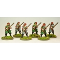 North Star GS29 French Dragoons Dismounted at Ready