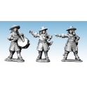 North Star GS50 Dragoon Command in Hats (Dismounted)