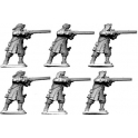 North Star GS23 Dismounted Dragoons in Fur-Trimmed Cap Firing