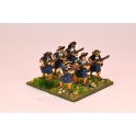North Star GS33 Musketeers with flintlock at the ready