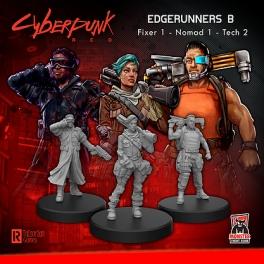 Monster Fight Club 33002 Edgerunners B (Tech - Nomad - Fixer)
