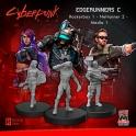 Monster Fight Club 33003 Edgerunners C (Rocker - Netrunner - Media)
