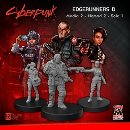 Monster Fight Club 33004 Edgerunners D (Solo - Nomad - Media)