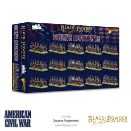 Warlord Games 312414005 Epic Battles Zouaves Guerre de Sécession