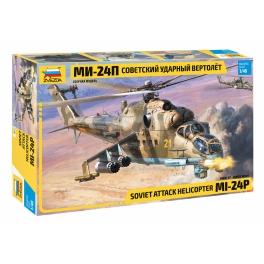 Zvezda 4812 Hélicoptère d'attaque soviétique Mil Mi-24P