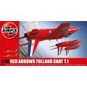 airfix 05124 Folland Gnat T.1 Red Arrows  (nouv. moule)