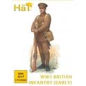 hat 8292 Infanterie anglaise début guerre 1914/1918