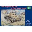 um 270 Panzer III.  H
