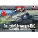 First to fight 38 Char allemand Pz 35(t) de commandement