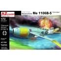 """azmodel 7539 Me 1106B-5 """"Hohenj""""ger"""" Luftwaffe '46"""