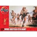 airfix 01709 8ème armée anglaise