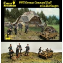 caesar 92 Etat major allemand + kubelwagen 39/45