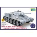 um 441 T-34 flame-throwing