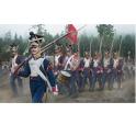 strelets 142 Infanterie polonaise en marche (1er empire)