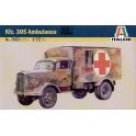 italeri 7055 KFZ.305 Ambulance