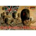 strelet m029 Grenadiers anglais en manteau 1854