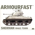 hat armourfast 99014 M4A3 Sherman 75mm