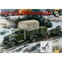 military wheels 7250 GAZ-42 + mortier de 120mm