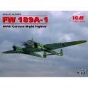icm 72293 FW 89 A 1 chasseur de nuit