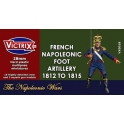 victrix 18 artillerie francaise 1er empire. 1812/1815