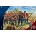 perry vlw20 Infanterie anglaise guerre zoulou 1879