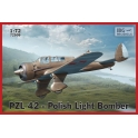 ibg 72509 Bmbardier leger polonais PZL.42