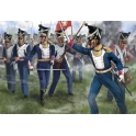 strelets 144 Infanterie polonaise à l'attaque (1er empire)