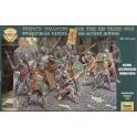 zvezda 8053 Infanterie francaise guerre de 100 ans